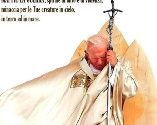 Preghiera di intercessione di Giovanni Paolo II: Mai più la guerra!