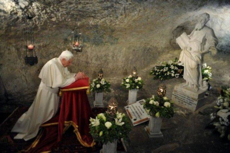 PREGHIERA PER LA VITA DI BENEDETTO XVI