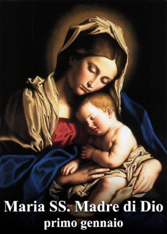 Maria Santissima Madre di Dio – 01 Gennaio