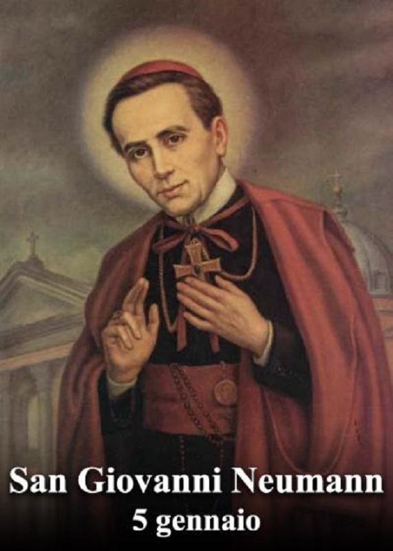 San Giovanni Nepomuceno Neumann – 05 Gennaio