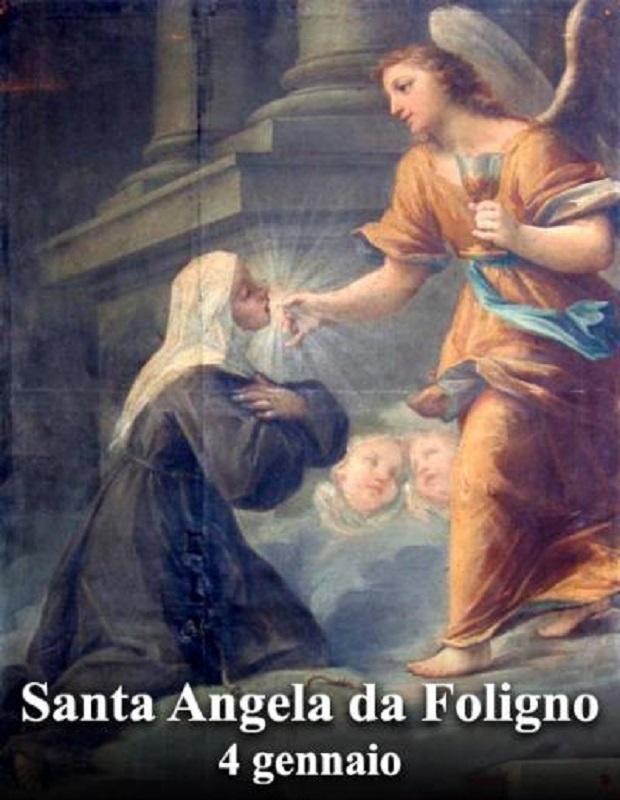 Santa Angela da Foligno – 04 Gennaio
