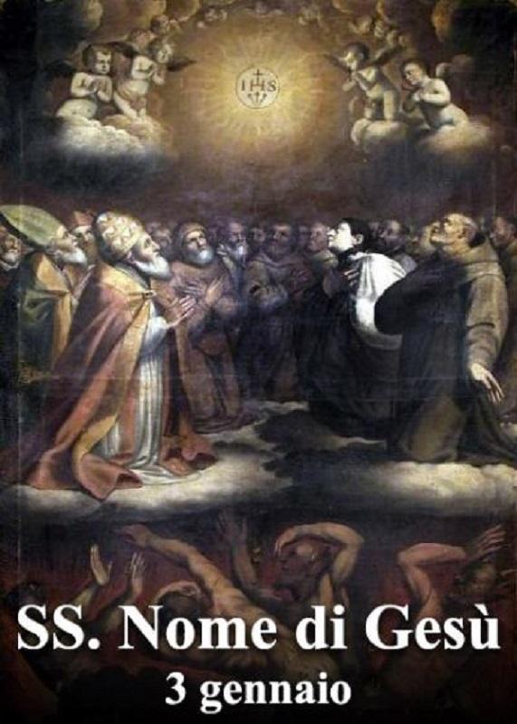 Santissimo Nome di Gesù – 03 Dicembre
