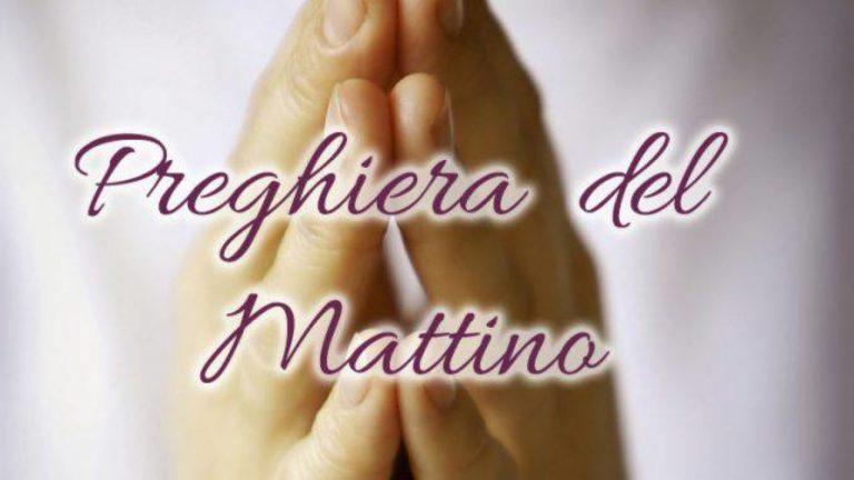 Preghiera del mattino per domenica 13 ottobre 2019