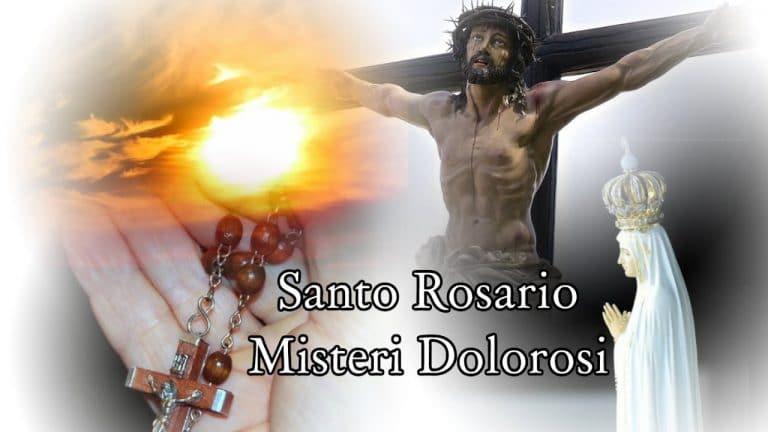 Il Santo Rosario: Ecco i Misteri Dolorosi che ci raccontano la sofferenza di Gesù per causa nostra